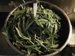 野菜豆腐包子,清洗干净