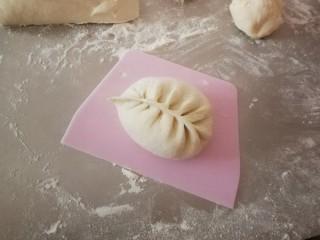 野菜豆腐包子,包成自己喜欢的类型