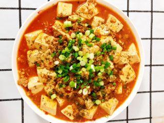 麻婆豆腐,成品图,来碗米饭🍚美滋滋!👏🏻👏🏻👏🏻