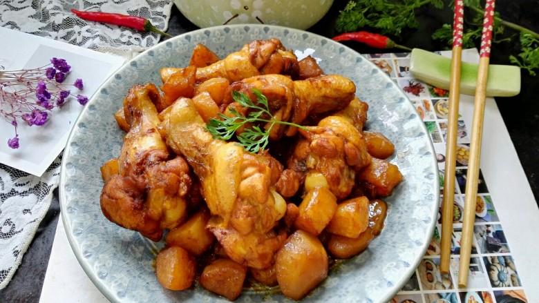 红烧土豆鸡翅根