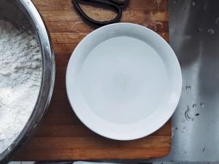 家常茴香猪肉水饺,准备一晚清水。