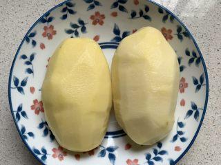 酸辣土豆丝,大土豆去皮