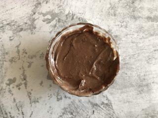 奥利奥巧克力雪糕,搅拌均匀