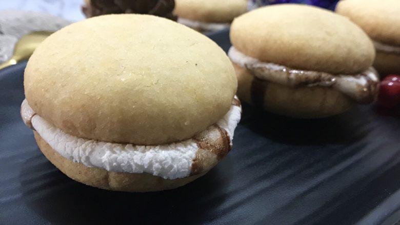 棉花糖饼干汉堡