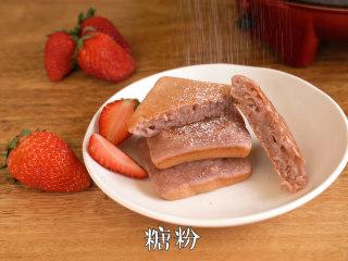比吃草莓还过瘾的草莓蛋糕,软糯香甜~,香甜美味的草莓蛋糕就做好啦~ ~