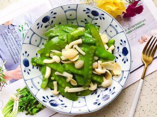百合玉菇荷兰豆