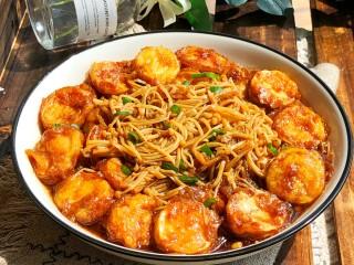 金针菇豆腐