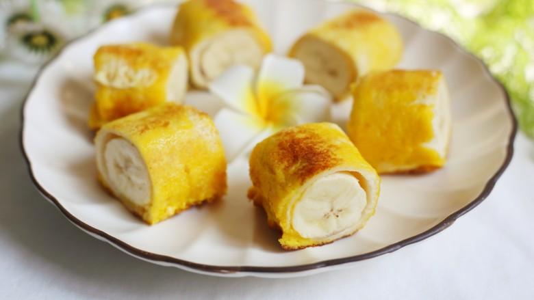 无敌简单的香蕉土司卷