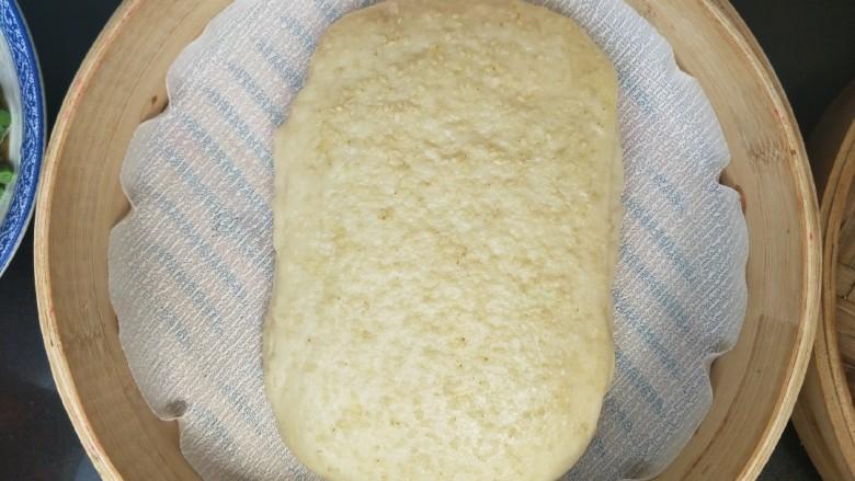 发面千层饼,蒸好的千层饼,稍微凉一下。