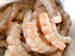 鲜虾片,虾去壳