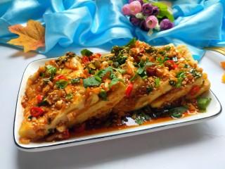 香辣脆皮豆腐,成品图来一张。