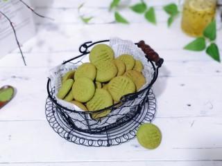 翡翠黄油饼干