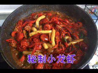 十三香小龙虾,自制秘制十三香小龙虾,就可以出锅啦
