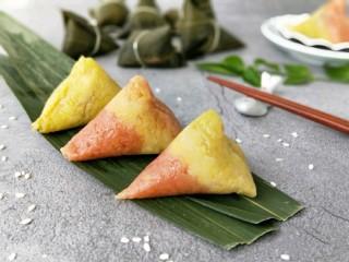 彩色三角粽