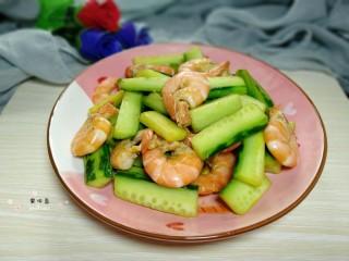 鲜虾黄瓜条