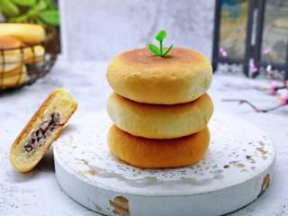 蜜豆喜饼~香甜松软,香甜松软可口。