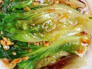 蚝油生菜,鲜美无比