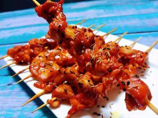 叉烧鸡腿串,鸡腿肉鲜嫩可口入口香浓唇齿留香回味无穷