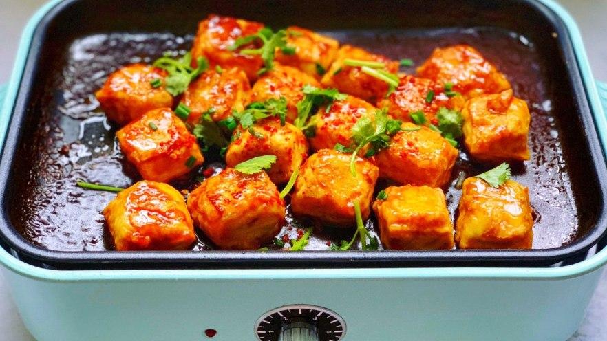 5块钱的豆腐做出锅包肉的感觉,宴客时露一手,倍有面子