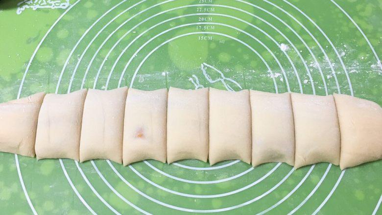 亚麻籽花生饼,分成九飞。