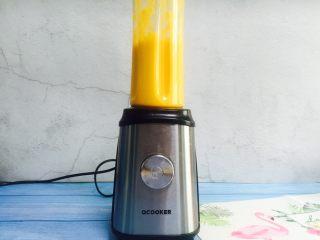 芒果奶昔+夏天的味道,30秒完成