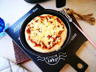 蜜汁里脊披萨