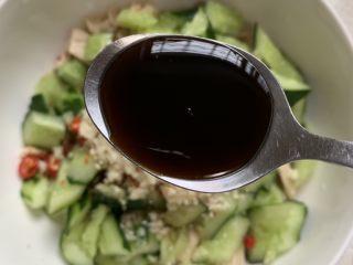 酸辣开胃凉拌腐竹,加点生抽