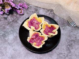 紫薯吐司挞