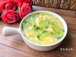青瓜蛋花汤