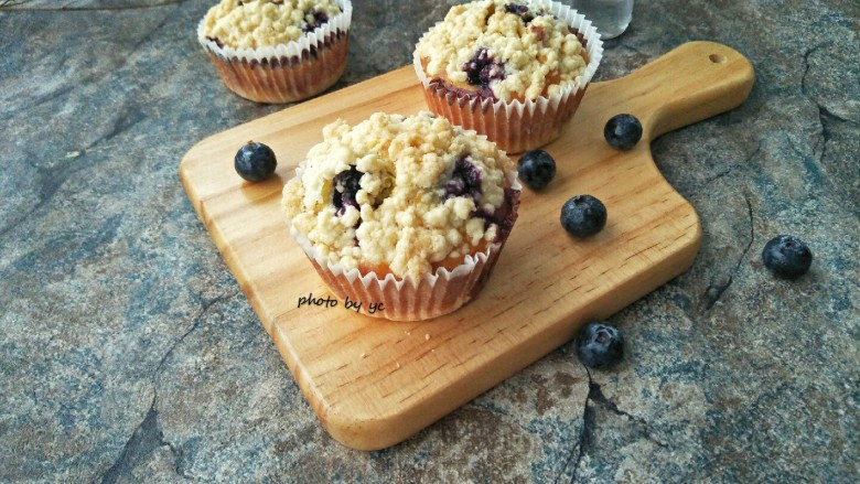 藍莓酥粒蛋糕