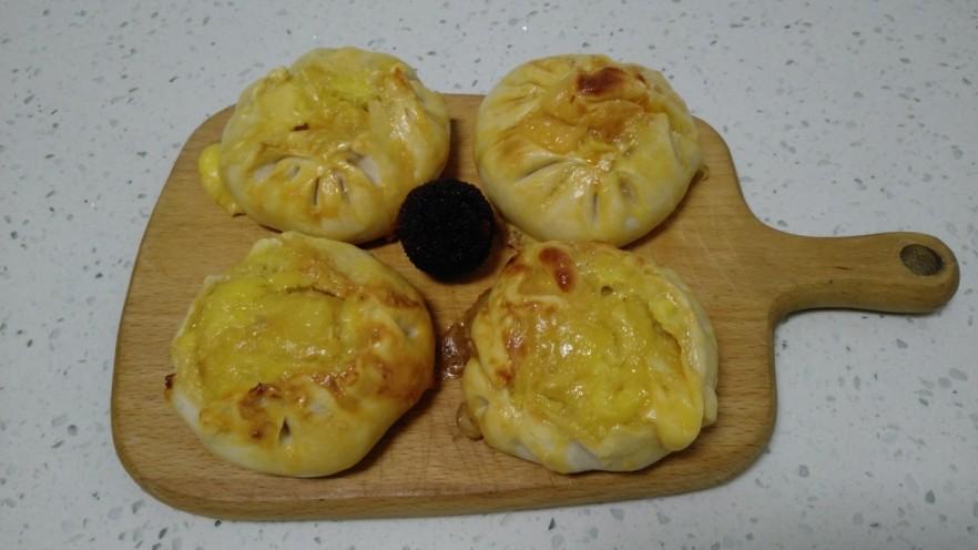 榴莲芝士饼