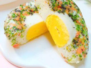 10+蔬菜蒸蛋