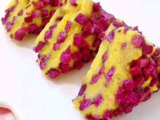 10+米粉紫薯蒸糕
