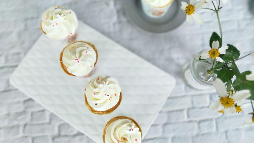 奶油杯子蛋糕