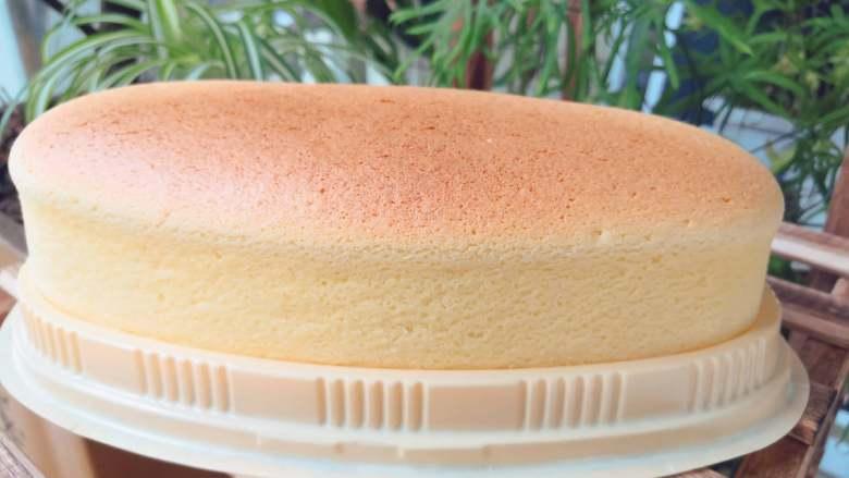 空气感轻乳酪蛋糕,成品图