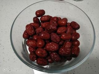 家庭版甑糕,红枣称好。