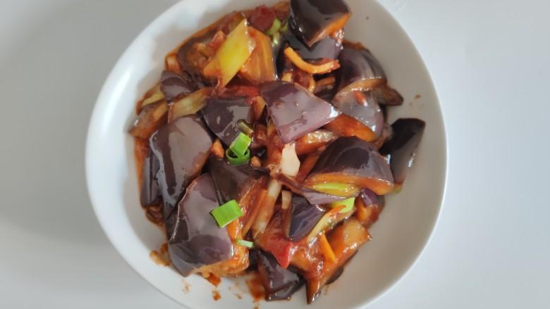 西红柿烧茄子,完成