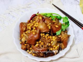 猪手焖黄豆