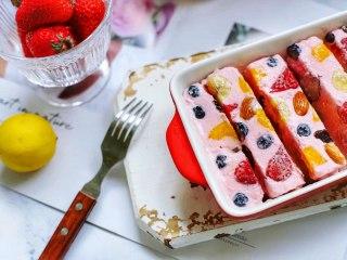 【酸奶水果条】