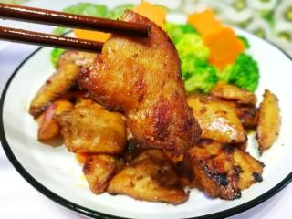 蜜汁香煎鸡胸肉,😋😋😋