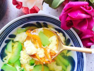 虫草花黄瓜鸡蛋汤,营养丰富