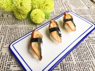 手作鳗鱼寿司
