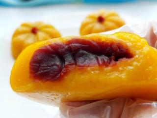 南瓜饼,美美图片来一张,糯叽叽的好吃!
