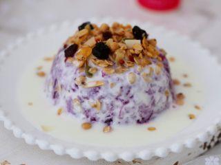 酸奶紫薯泥,圖三
