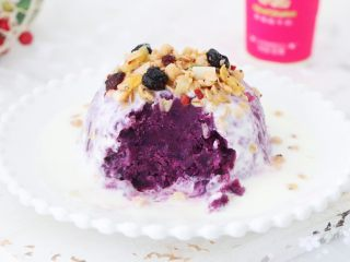 酸奶紫薯泥,圖五