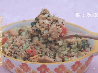 一周7天不重样的藜麦吃法「厨娘物语」,花椰菜藜麦炒饭就做好啦,开吃吧~