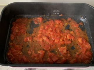 番茄浓汤烩饭,炒出汁水