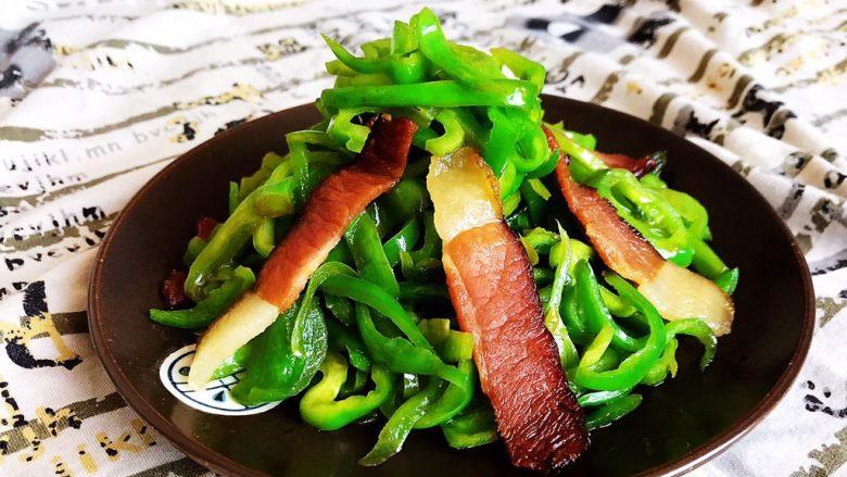 10分钟快手菜  麻椒炒腊肉