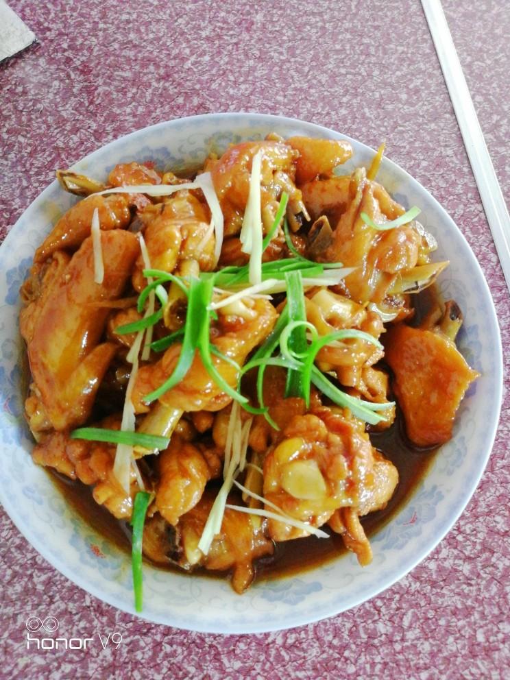 姜糖炒鸡翅