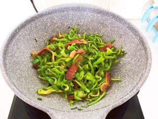 10分钟快手菜  麻椒炒腊肉,麻椒炒腊肉做好了~